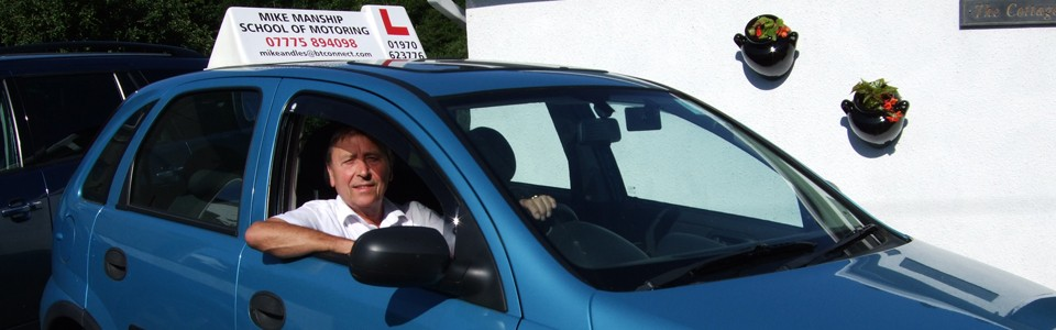 Advanced Driving Lessons in Aberystwyth
